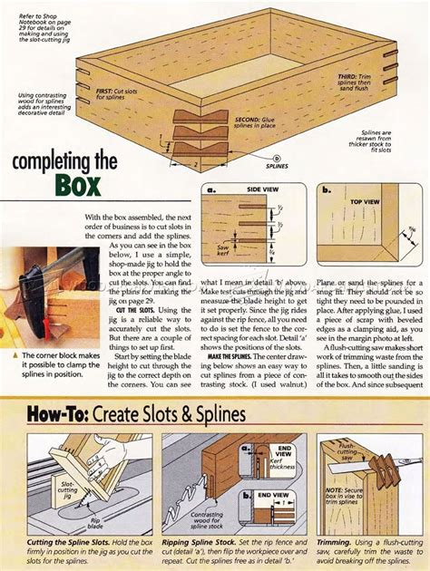 Woodworking-Plans-For-A-Box