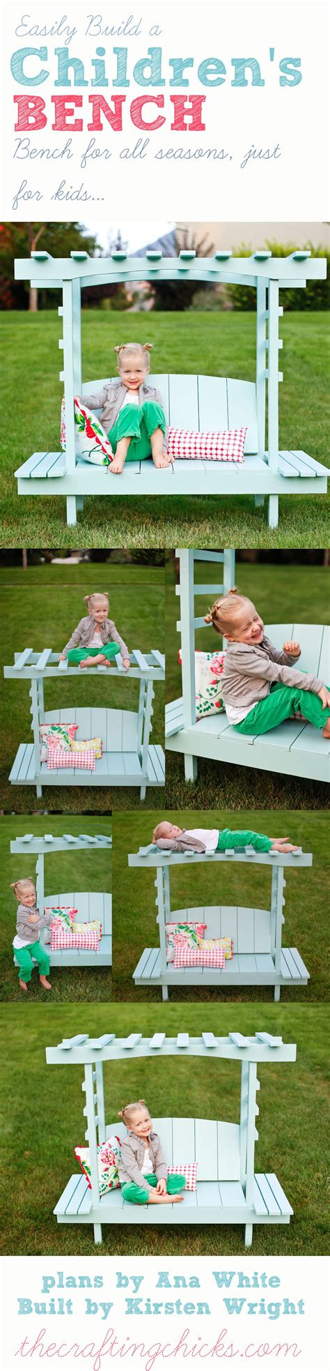 Woodworking-Plans-For-Childrens-Bench