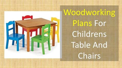 Woodworking-Plans-For-Childrens-Table