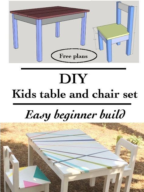 Woodworking-Plans-For-Childrens-Table-And-Chairs