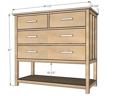 Woodworking-Plans-For-Small-Dresser