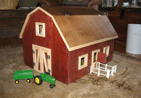 Woodworking-Plans-For-Toy-Barn