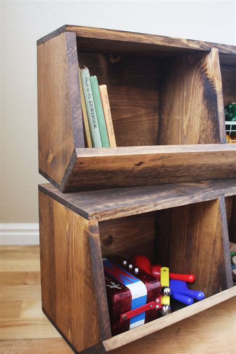 Woodworking-Plans-For-Toy-Storage
