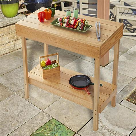 Woodworking-Plans-Grill-Table