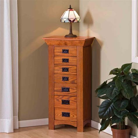 Woodworking-Plans-Mission-Style-Jewelry-Armoire