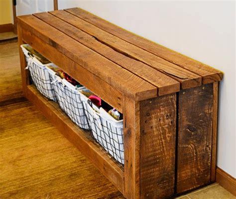 Woodworking-Plans-Pallet-Bench-Storage
