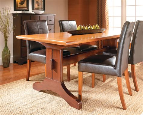 Woodworking-Plans-Trestle-Table