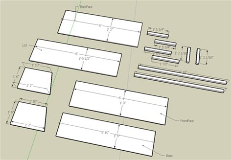 Woodworking-Plans-With-Cut-List