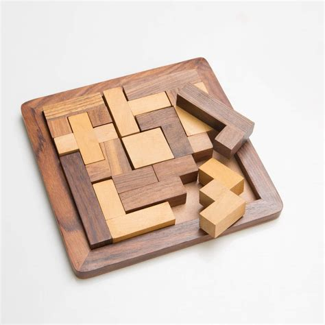 Woodworking-Puzzles