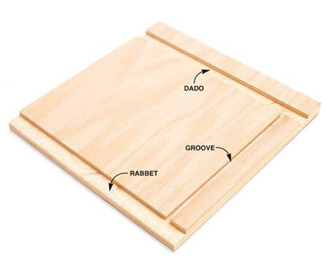 Woodworking-Rabbet
