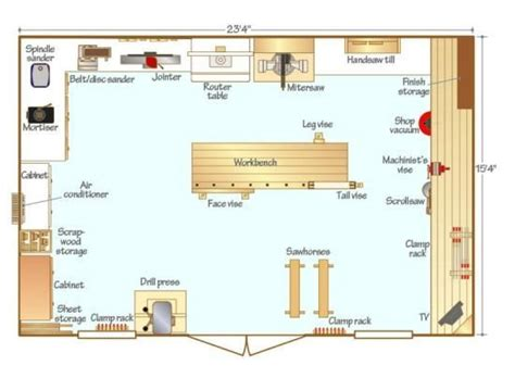Woodworking-Shop-Size