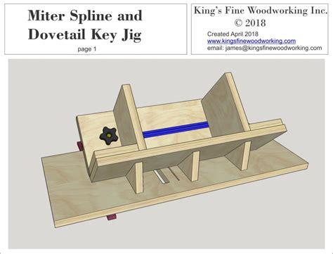 Woodworking-Spline-Jig-Plans