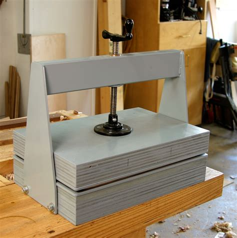 Woodworking-Veneer-Press