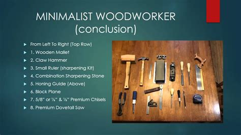 Woodworking-With-Minimal-Tools
