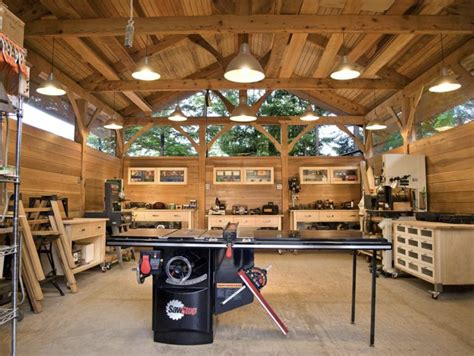 Woodworking-Workshop-Setup