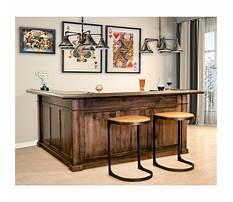 Best Woodworking home bar plans