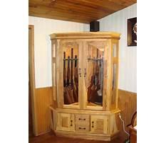 Best Woodworking ideas gun cabinet