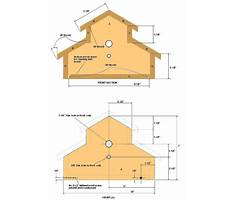 Best Woodworking plans for a birdhouse