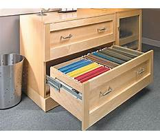 Best Woodworking plans for file cabinet