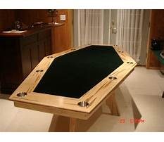 Best Woodworking plans for game tables