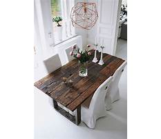 Best Woodworking plans for rustic dining table