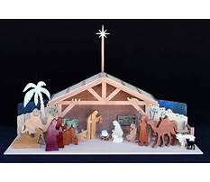 Best Woodworking plans nativity stable
