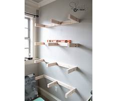 Best Woodworking plans to make floating shelf