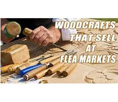 Best Woodworking projects that sell at flea markets