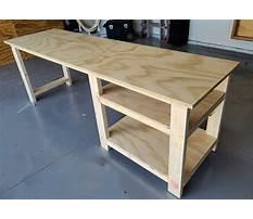 Best Woodworking simple desk