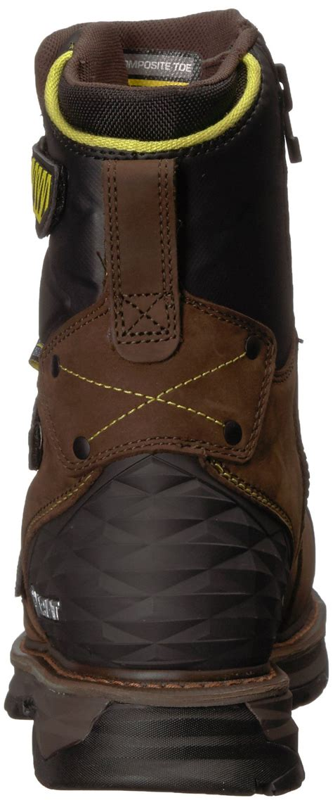 Work Men's Catalyst 8' H2O Composite Toe Work Boot, Oily Distressed Brown, 7.5 D US