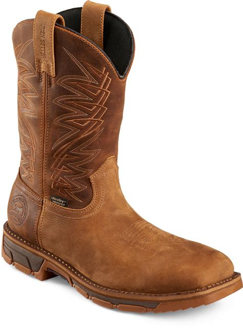 Work Men's Marshall 11' Pull On Steel Toe Work Boot