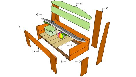 Work-Bench-Seat-Plans