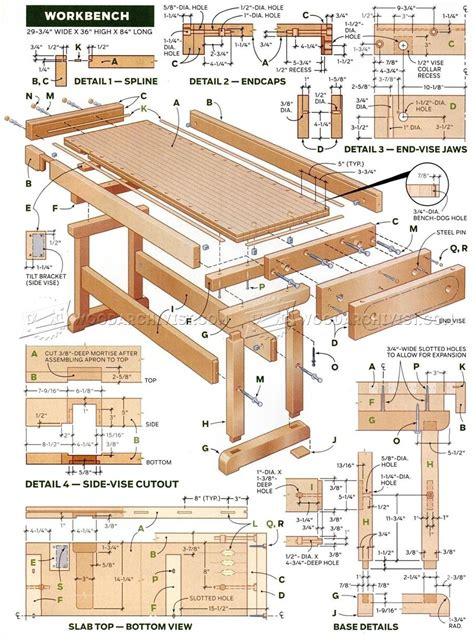 Workbench Designs And Plans
