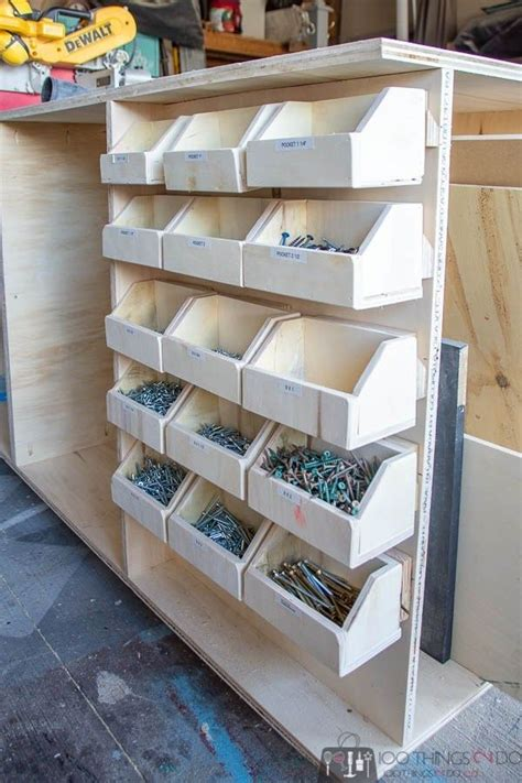 Workbench Diy Storage Bins