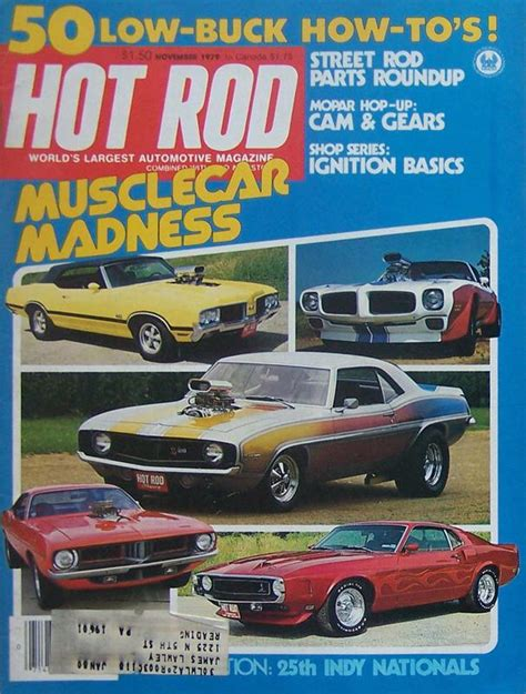 Workbench Magazine Back Issues For Nov Dec 1982 Camaro