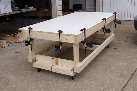 Workbench On Casters Plans For Building