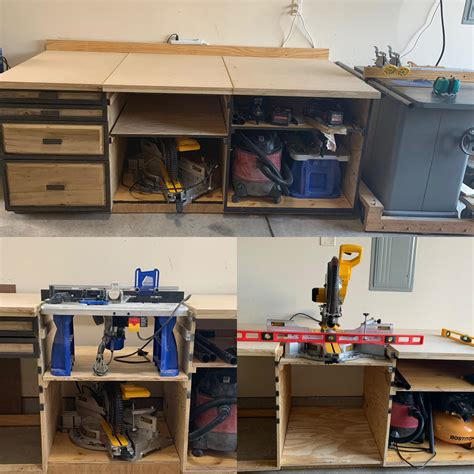Workbench Removable Table Saw Shelf Liner