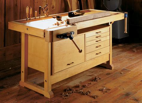 Workbench-With-Cabinet-Plans