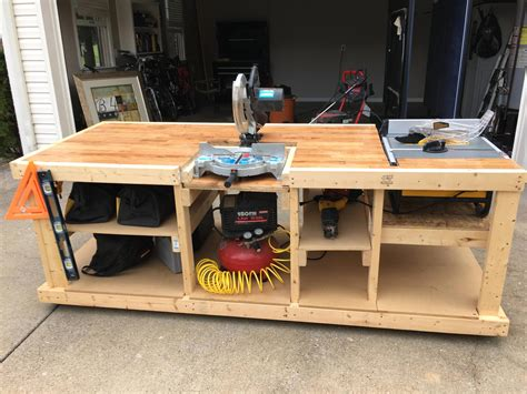 Workbenches Plans Garage