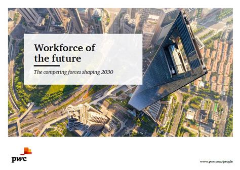 [pdf] Workforce Of The Future - Pwc.
