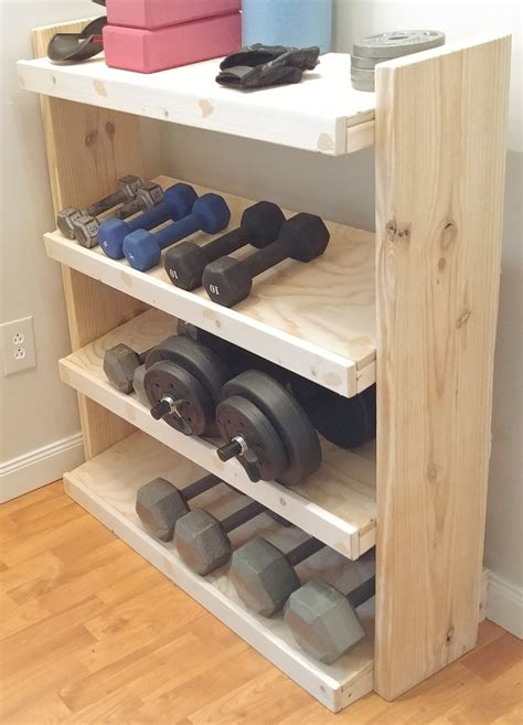 Workout Storage Organizer Diy