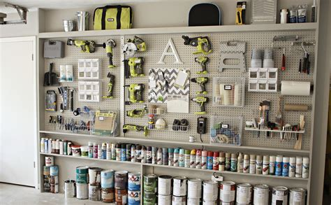 Workshop Shelves Diy Pinterest