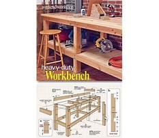 Best Workshop bench plans