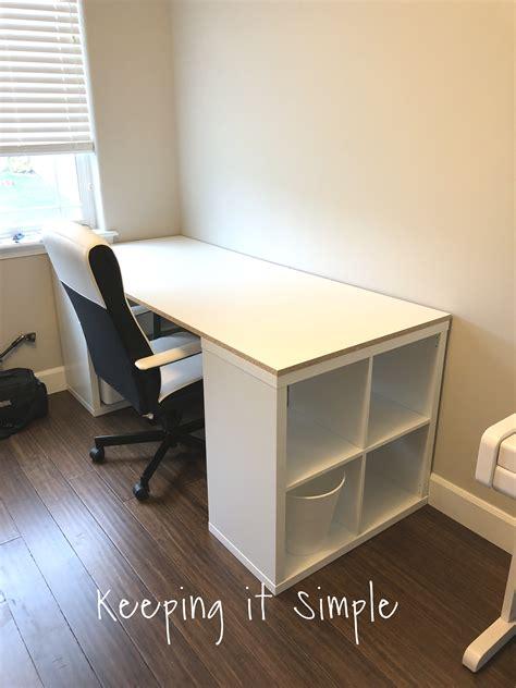 Workstation-Desk-Ikea-Shelf-Computer-Diy