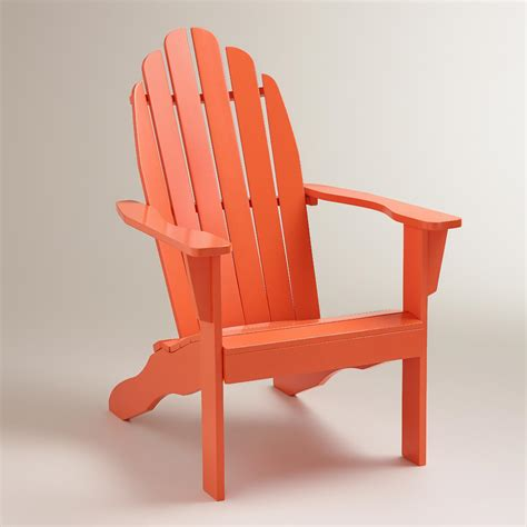 World-Market-Orange-Adirondack-Chair