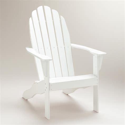 World-Market-White-Adirondack-Chairs