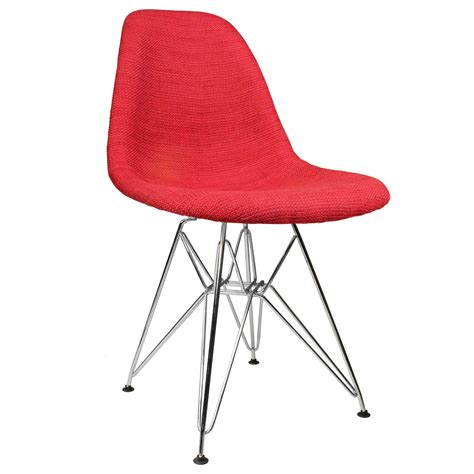 Woven Red Dining Chair