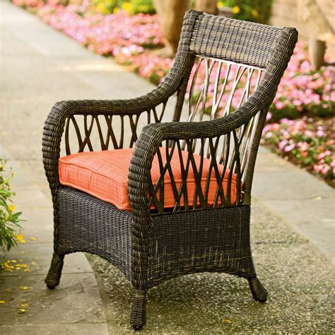Woven Resin Dining Chairs