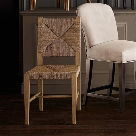 Woven Rush Dining Chairs