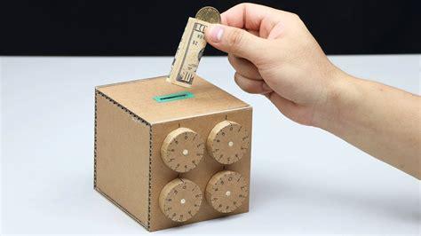 Wow-Amazing-Safe-Box-4-Digit-Password-Diy-From-Cardboard